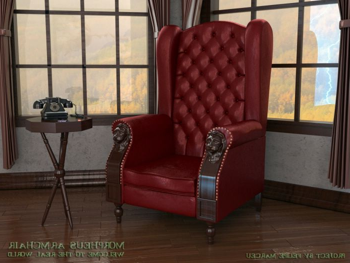 Morpheus Armchair – A Poltrona De Morpheusfelipe Marceu Intended For Famous Sweetwater Wingback Chairs (View 19 of 30)