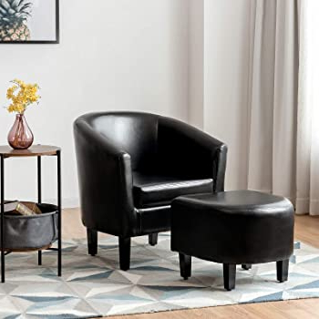 Most Current Amazon: Coaster Home Furnishings Barrel Back Accent Regarding Chaithra Barrel Chair And Ottoman Sets (View 16 of 30)