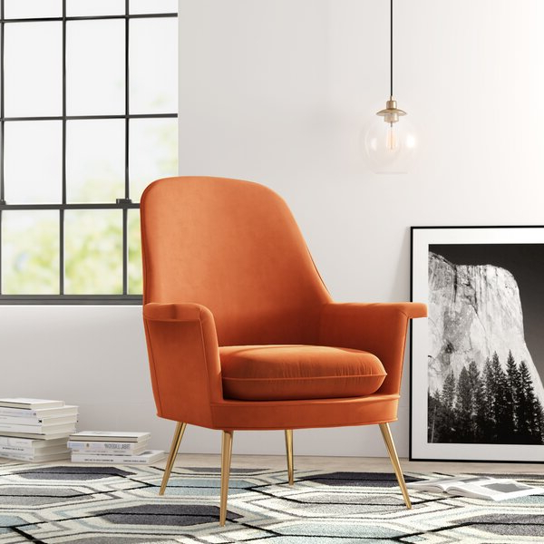 Most Current Danny Barrel Chairs (set Of 2) For Modern & Contemporary Dusty Rose Chair (View 11 of 30)