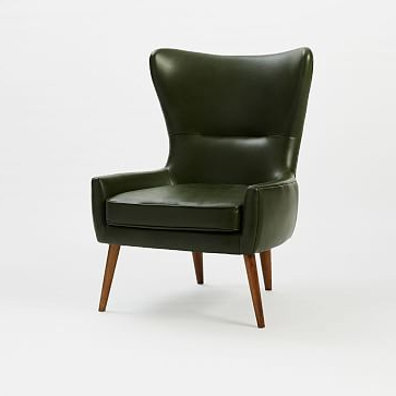 Most Current Erik Leather Wing Chair (View 9 of 30)