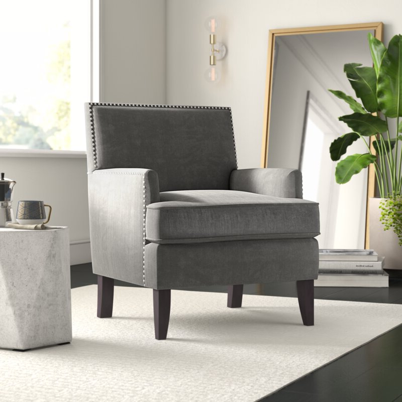 """Most Current Hanner Polyester Armchairs Regarding Borst 29"""" Armchair (View 17 of 30)"""