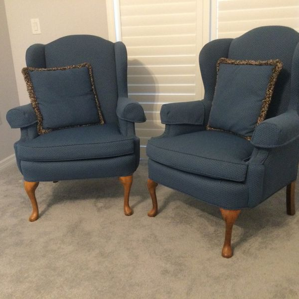 Most Current New And Used Wingback Chair For Sale In Daytona Beach, Fl For Waterton Wingback Chairs (View 21 of 30)