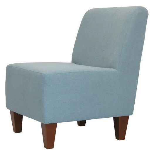 Most Current Wadhurst Slipper Chairs Throughout Fox Hill Trading Penelope Armless Slipper Chair (View 6 of 30)