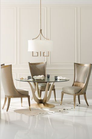Most Popular Aime Upholstered Parsons Chairs In Beige With Unique Chairs & Seating At Neiman Marcus (View 29 of 30)