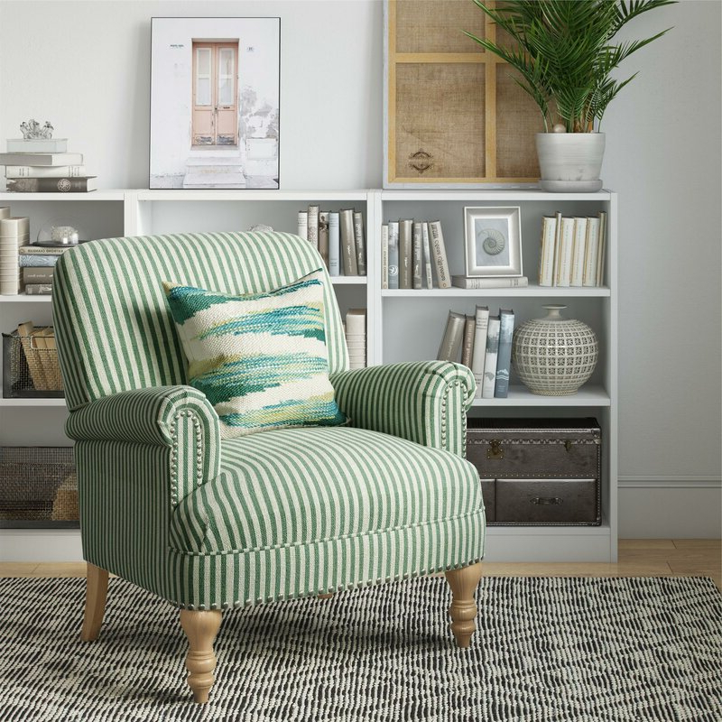 Most Popular Busti Wingback Chairs Within Cheryl Armchair (View 28 of 30)