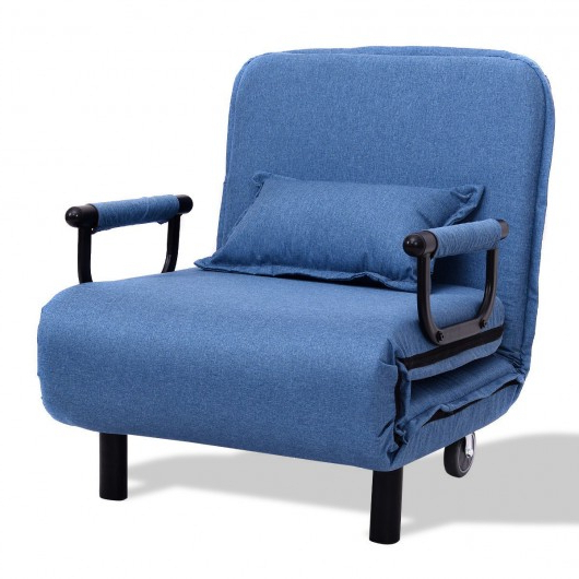 Most Popular Convertible Folding Leisure Recliner Sofa Bed Within Hiltz Armchairs (View 24 of 30)