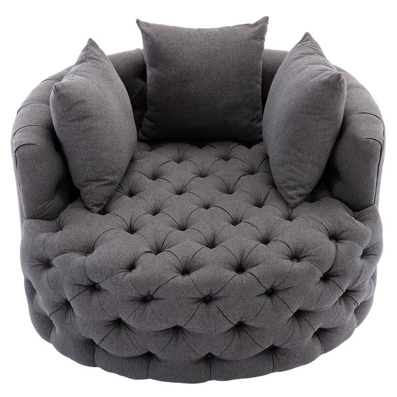 Most Popular Dorcaster Barrel Chairs Inside Pin On Dream House Money Is No Object! (View 10 of 30)