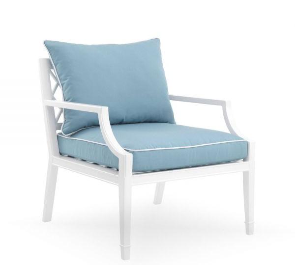 Most Popular Eichholtz Chair Bella Vista White Finish With Regard To Hiltz Armchairs (View 12 of 30)