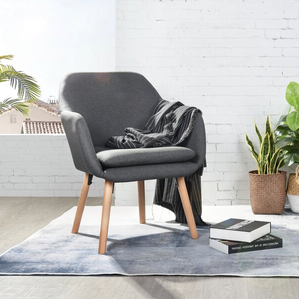 Most Popular Hanner Polyester Armchairs Throughout Kenmore (View 11 of 30)