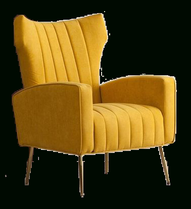 Most Popular Lauretta Velvet Wingback Chairs In Lauretta Wingback Chair (View 5 of 30)