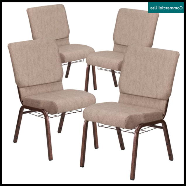 Most Popular Longoria Convertible Chairs Pertaining To Chair Stackable Fabric Ebern Designs Set Of (View 7 of 30)