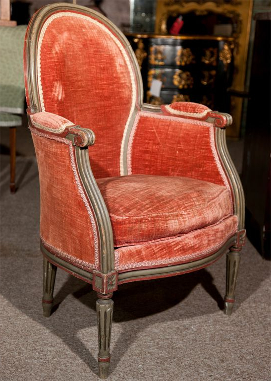 Most Popular Pair Of Maison Jansen Louis Xiv Style Bergere Chairs Inside Harmoni Armchairs (View 6 of 30)