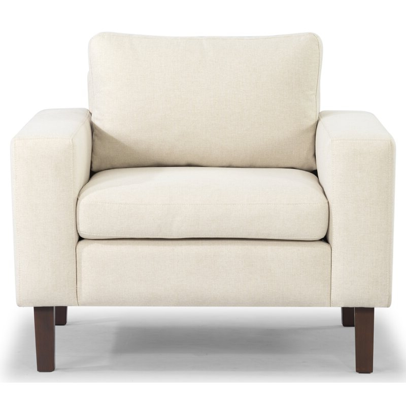 """Most Recent Azekiel 34"""" W Polyester Blend Armchair With Regard To Leia Polyester Armchairs (View 10 of 30)"""