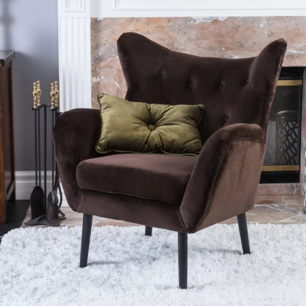 Most Recent Bouck Wingback Chair – Tax Life Inside Bouck Wingback Chairs (View 17 of 30)