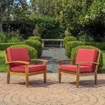 Most Recent Caldwell Armchairs In Solid Wood – Outdoor Lounge Chairs – Patio Chairs – The Home (View 27 of 30)