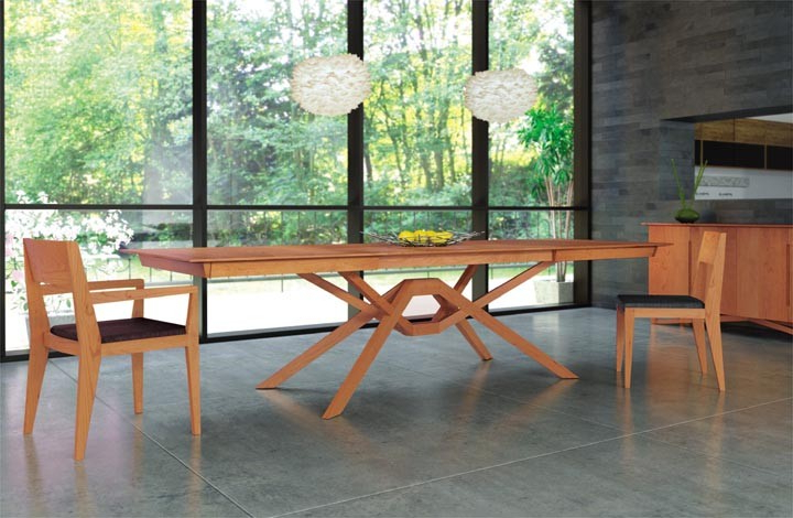 Most Recent Copeland Furniture : Natural Hardwood Furniture From Vermont Pertaining To Exeter Side Chairs (View 8 of 30)