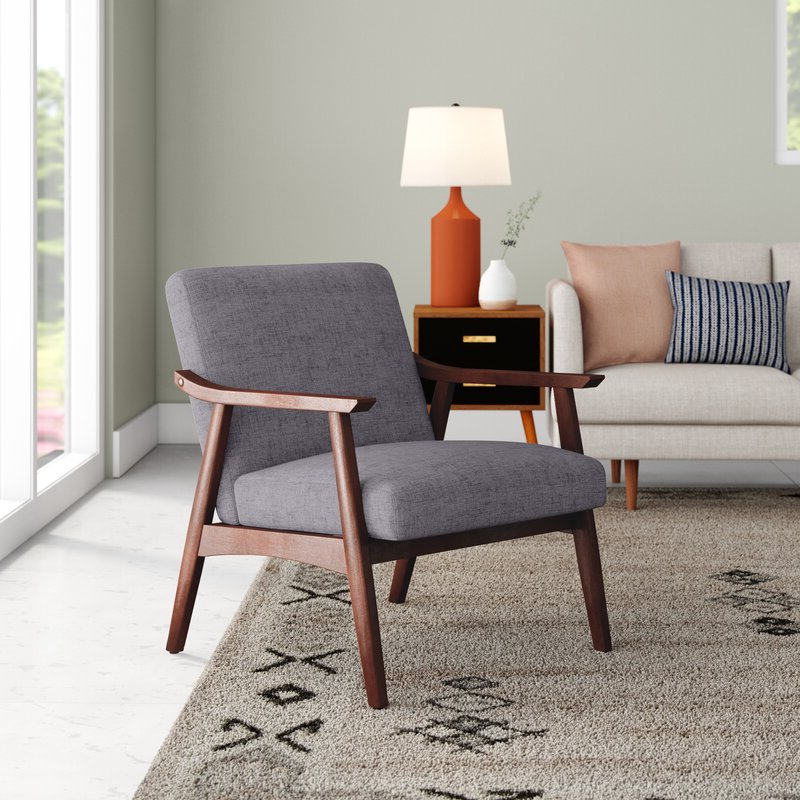 Most Recent Dallin Arm Chair Inside Hofstetter Armchairs (View 26 of 30)