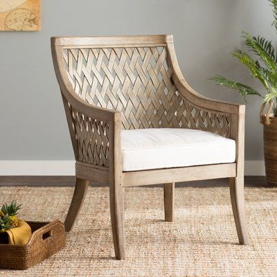Most Recent Juniper Cane And White Washed Wood Barrel Chair – – Vozeli Pertaining To Gallin Wingback Chairs (Gallery 29 of 30)