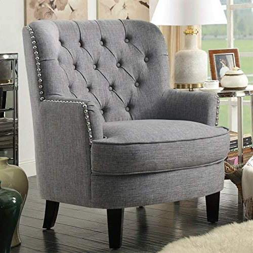 Most Recent Lenaghan Wingback Chairs For Amazon: Lenaghan Wingback Chair: Kitchen & Dining (View 5 of 30)