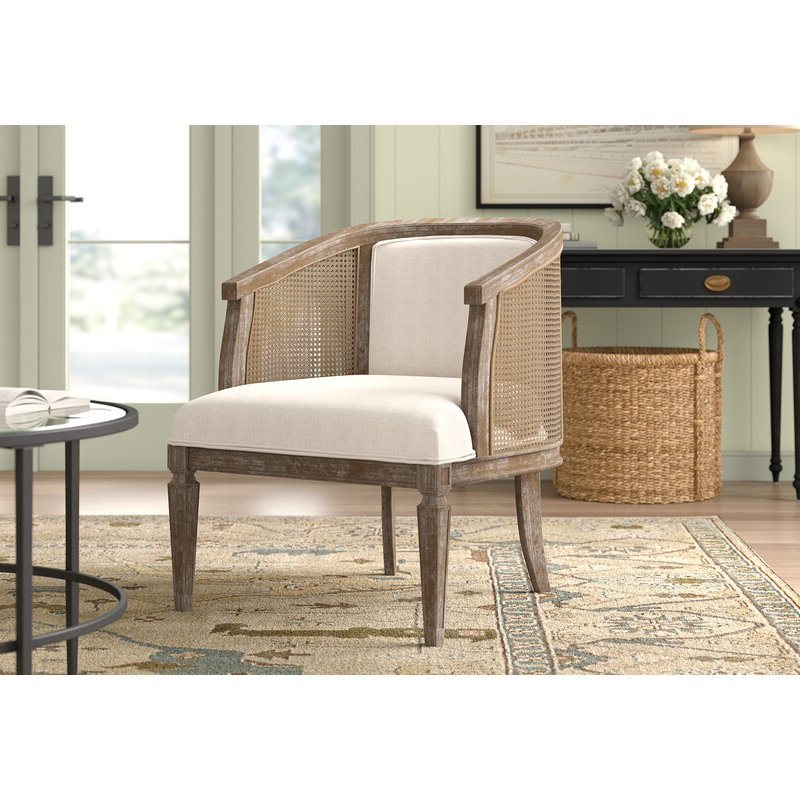 Most Recent Lindsey Barrel Chair With Regard To Briseno Barrel Chairs (View 8 of 30)