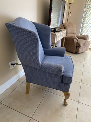 Most Recent New And Used Wingback Chair For Sale In Melbourne, Fl – Offerup For Waterton Wingback Chairs (View 17 of 30)