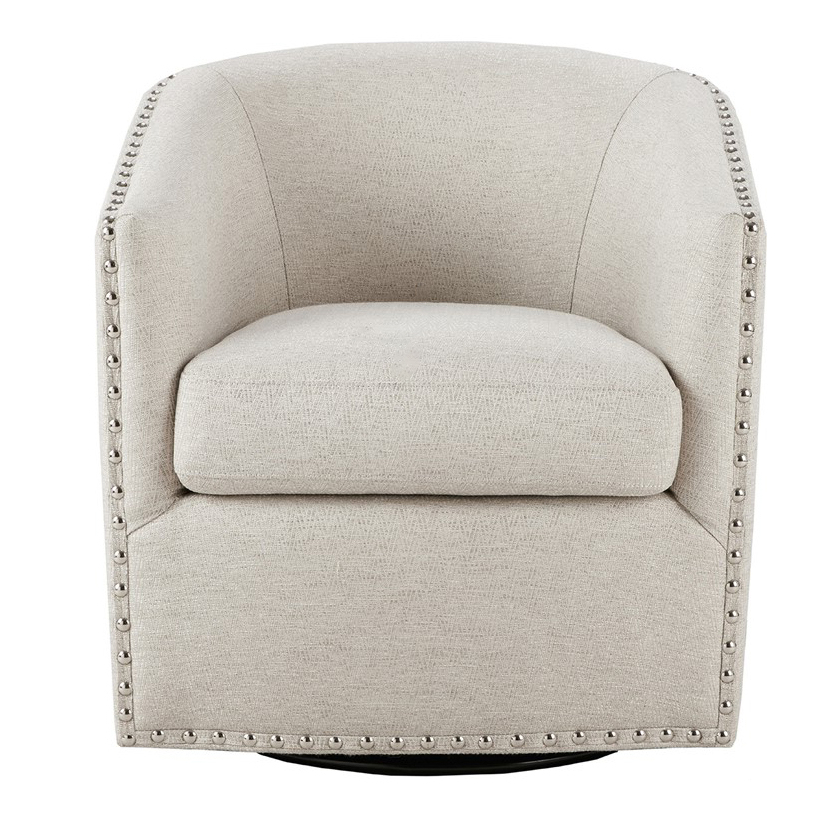 Most Recent Sweetwater Wingback Chairs Regarding Colton Swivel Chair – Natural (View 30 of 30)