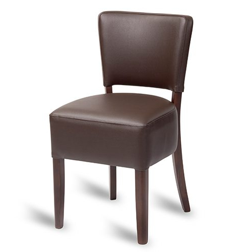 Most Recent Trent Dining Chair – Brown In Trent Side Chairs (View 4 of 30)
