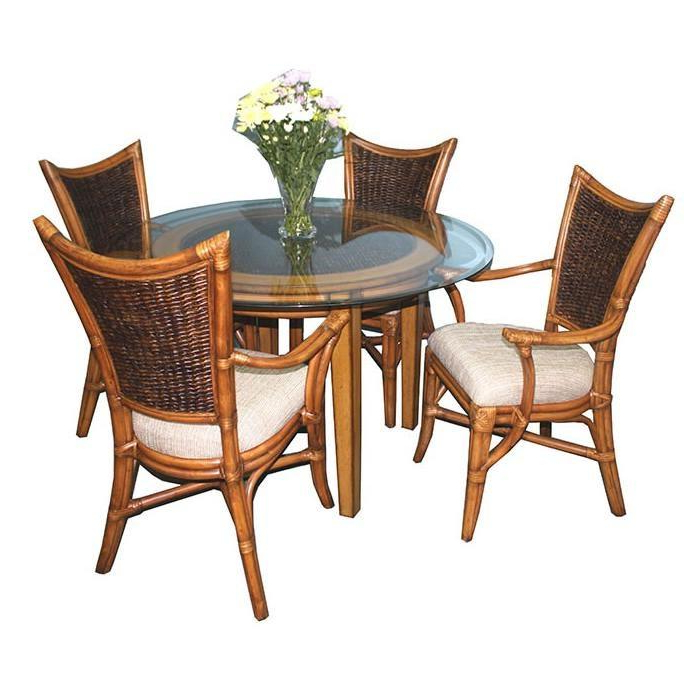 Most Recently Released Beachwood Arm Chairs For Dining Room Dining Room Sets Beachwood 3850 5 Pc Round (View 6 of 30)