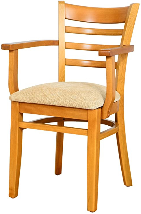 Most Recently Released Beechwood Mountain Bsd 5a C Solid Beech Wood Arm Chair In Cherry For Kitchen & Dining, Na In Beachwood Arm Chairs (View 12 of 30)