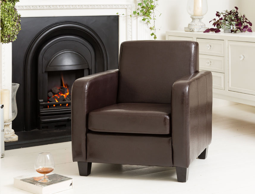 Most Recently Released Dorchester Armchair Brown Inside Dorcaster Barrel Chairs (View 15 of 30)