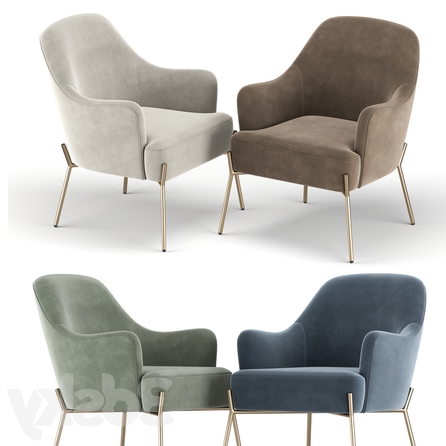 Most Recently Released Erastus Armchairs Intended For 3d Models: Arm Chair – Erastus Armchair (View 17 of 30)