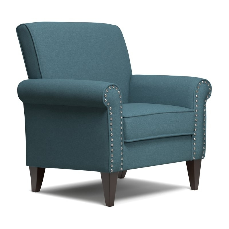 Most Recently Released Jayde Armchairs Regarding Navy Blue Accent Chair You'll Love In 2021 – Visualhunt (View 19 of 30)