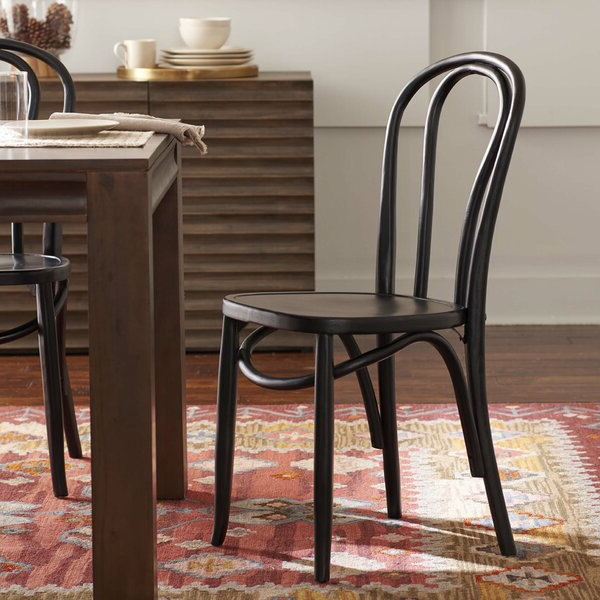 Most Recently Released Light Oak Dining Chairs Regarding Bob Stripe Upholstered Dining Chairs (set Of 2) (View 26 of 30)