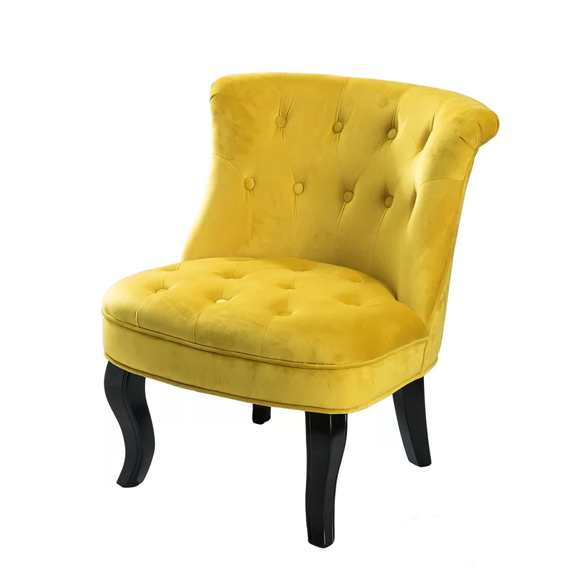 Most Recently Released Maubara Tufted Wingback Chairs Pertaining To Maubara Lewisville Wingback Chair In (View 8 of 30)