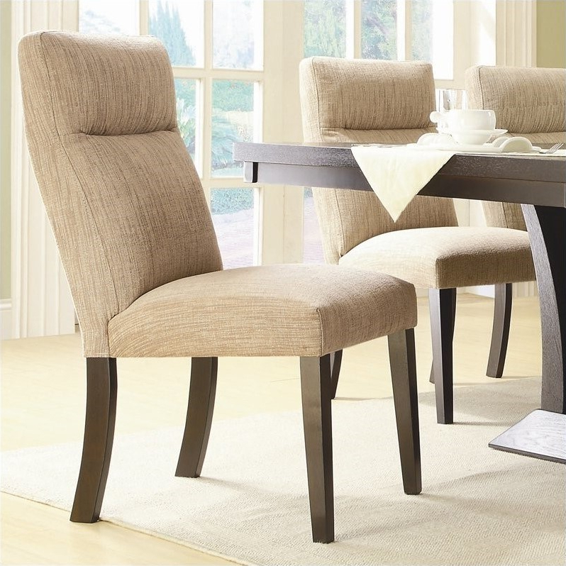 Most Recently Released Trent Side Chairs Within Trent Home Avery Dining Chair In Espresso (set Of 2) – Walmart (View 22 of 30)