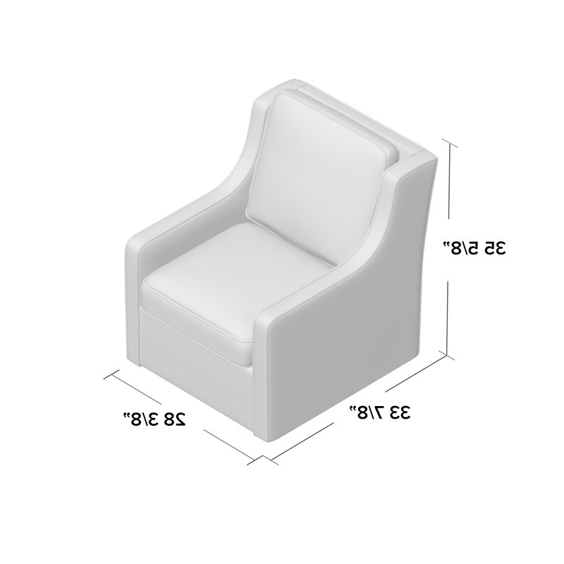 Most Recently Released Vineland Swivel Armchair With Regard To Vineland Polyester Swivel Armchairs (View 7 of 30)