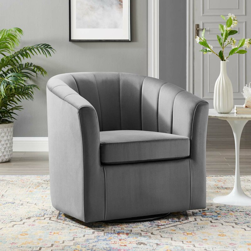 Most Recently Released Ziaa Performance Velvet Swivel Barrel Chair With Ziaa Barrel Chairs (View 16 of 30)