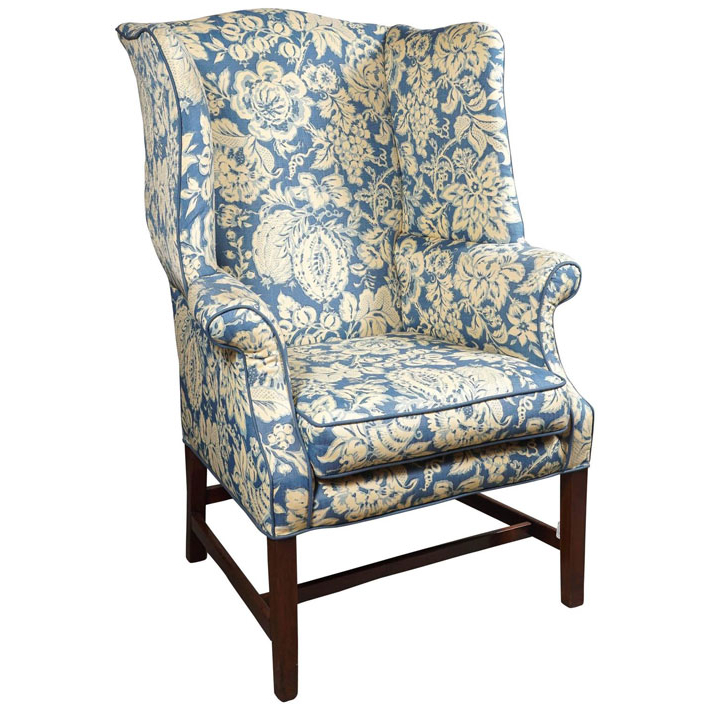 Most Up To Date Busti Wingback Chairs With Regard To George Iii Wingback Chair (View 22 of 30)