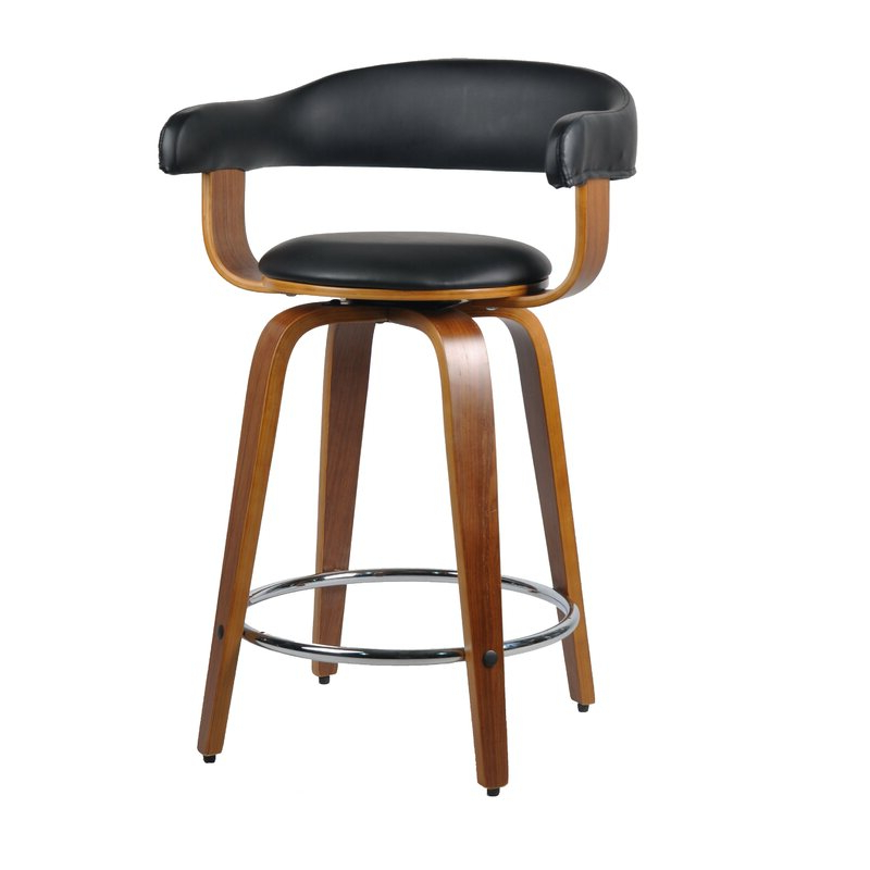 Most Up To Date Dansby 61cm Swivel Bar Stool Pertaining To Ansby Barrel Chairs (View 14 of 30)