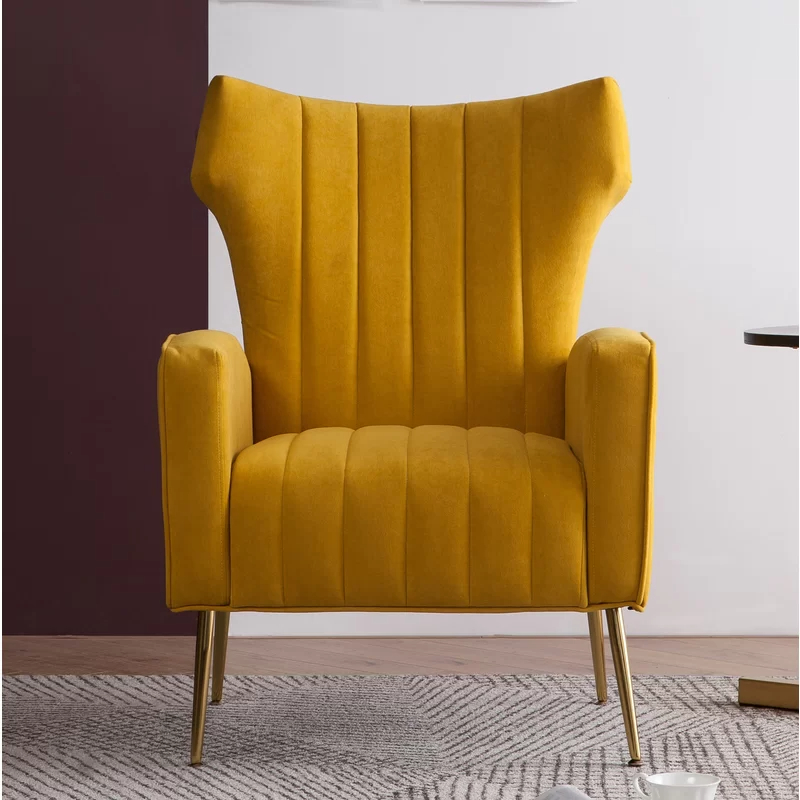 Most Up To Date Maubara Tufted Wingback Chairs For Lauretta (View 18 of 30)