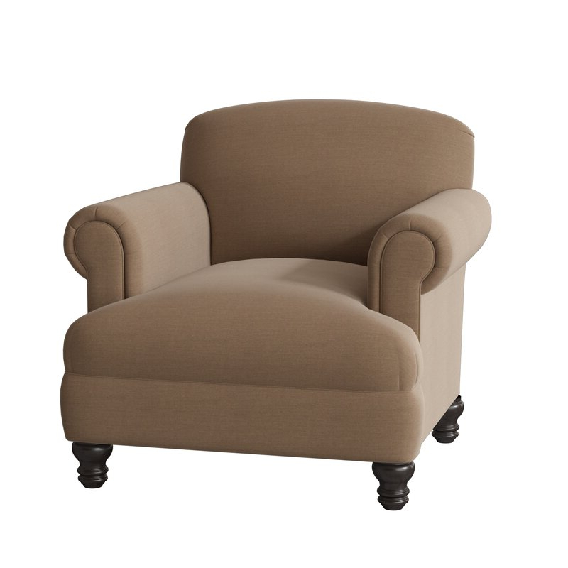 Munson Linen Barrel Chairs Pertaining To Most Recent Murphy Armchair (View 28 of 30)