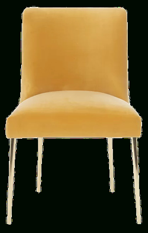 Mustard With Daulton Velvet Side Chairs (View 24 of 30)