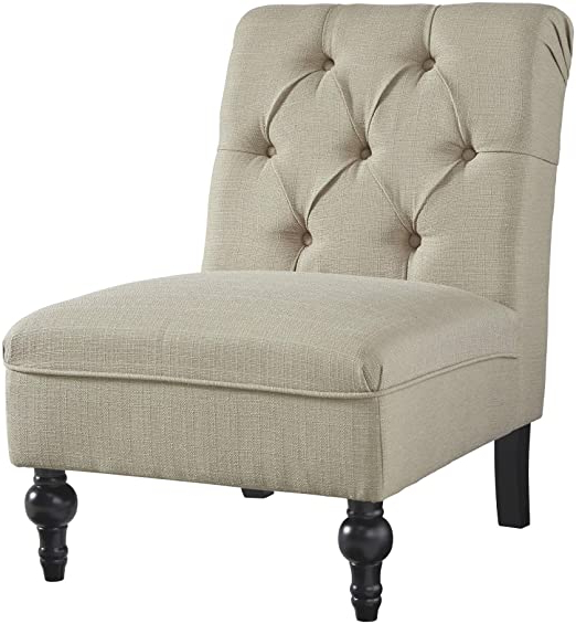 Nestor Wingback Chairs Regarding Recent Signature Designashley – Degas Accent Chair – Traditional – Oatmeal (View 25 of 30)