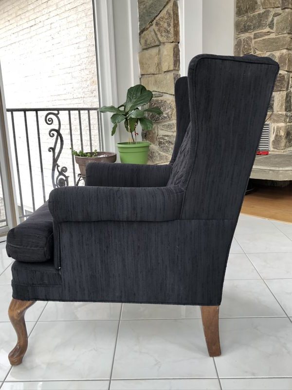 New And Used Armchair For Sale In Hyattsville, Md – Offerup Throughout Widely Used Jarin Faux Leather Armchairs (View 13 of 30)