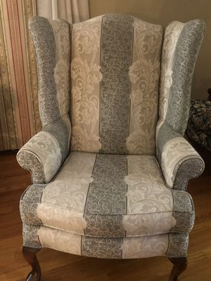 New And Used Wingback Chair For Sale In New York, Ny – Offerup Intended For Most Up To Date Lenaghan Wingback Chairs (View 19 of 30)