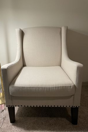 New And Used Wingback Chair For Sale In Tampa, Fl – Offerup Regarding Recent Chagnon Wingback Chairs (View 28 of 30)