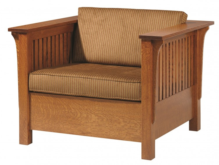 New London Convertible Chairs Pertaining To Most Popular Mission Sleeper Chair (View 18 of 30)