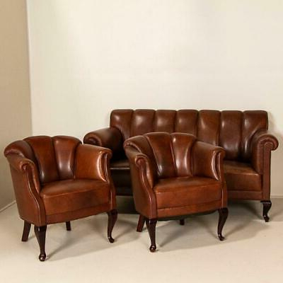 Newest 1900 1950 – Vintage Chair – Vatican Regarding Starks Tufted Fabric Chesterfield Chair And Ottoman Sets (View 14 of 30)