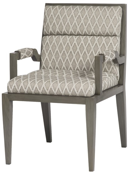 Newest Armory Fabric Armchairs For Armory Square Arm Chair 9712a – Our Products – Vanguard (View 10 of 30)
