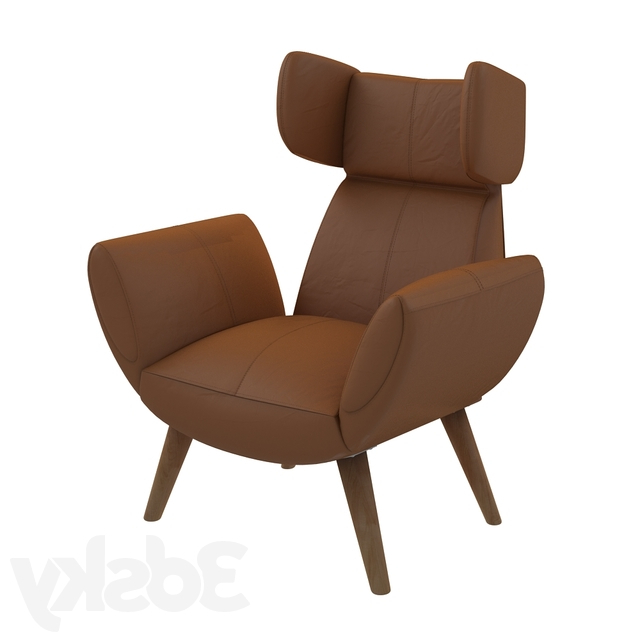 Newest Borst Armchairs Inside 3d Models: Arm Chair – Borst Armchair (View 9 of 30)